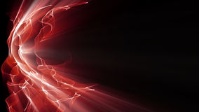 Light Effect 0395. Waves of red light undulate, ripple and shine Royalty Free Stock Image