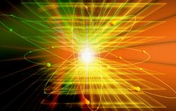 Light effects Royalty Free Stock Image