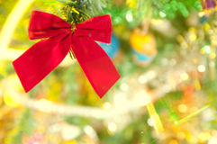 Light effects. Christmas decoration - defocused lights effects royalty free stock photo