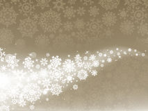 Light elegant abstract Christmas background. EPS 8. Light elegant abstract Christmas background with white snowflakes. EPS 8  file included Royalty Free Stock Photos