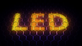 Light-emitting diode (LED) background Royalty Free Stock Images