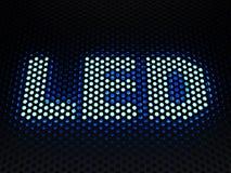 Light-emitting diode (LED) sign Stock Images