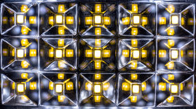 Light emitting diode matrix of home lamp Royalty Free Stock Photography