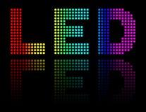 Light emitting diodes Royalty Free Stock Image