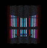 Light emitting diodes (LED) display Royalty Free Stock Images