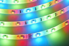 Light emitting diodes Royalty Free Stock Photos