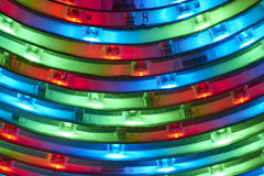 Light emitting diodes Stock Photography