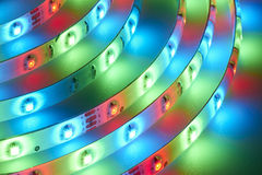 Light emitting diodes Royalty Free Stock Image