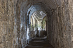 Light at the end of the corridor Royalty Free Stock Photography