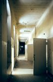 Light at the end of the corridor Stock Photo
