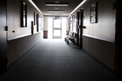 Light at the end of the hallway Royalty Free Stock Photo