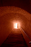 Light at the end of the tunnel Royalty Free Stock Photo