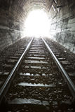 Light at end of Tunnel. Escape, freedom, concept royalty free stock photography
