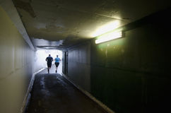 Light at End of Tunnel Stock Images