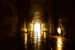 Light at End of Tunnel Stock Image