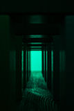 Light at the end of tunnel. Stock Photography