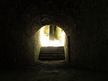 The light at the end of the tunnel Royalty Free Stock Images