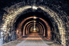 The Light at the End of the Tunnel Royalty Free Stock Image