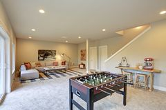 Light entertainment/game room design Stock Photo