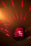Light equipment for party, event. Red light Stock Photography