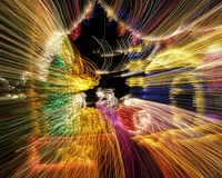 Light Explosion Royalty Free Stock Images