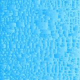 Vector abstract water blue background. Light fancy water pattern background with splashes, stripes, waves and bubbles stock illustration