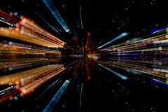 Light fiber abstract Royalty Free Stock Photo