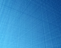 Light fiber mesh. Dense 3d orthogonal blue light fibre system Stock Image