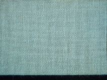 Light with fine horizontal dark stripe natural linen texture for background Royalty Free Stock Images