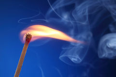 Light a fire Royalty Free Stock Photo