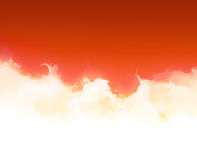 Light Fire Area with Copy space. Wallpaper in vibrant red color Royalty Free Stock Photo
