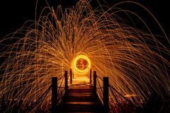 Light fire Spin Stock Images