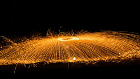Light fire Spin Royalty Free Stock Photo