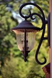 Light fixture. This picture represents an outdoor light fixture Royalty Free Stock Image