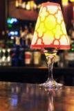 Light Fixture on Bar Royalty Free Stock Image