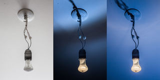 Light fixture Royalty Free Stock Images