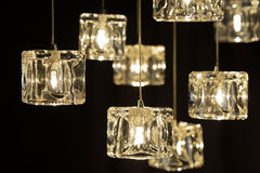 Closeup view of contemporary light fixture Royalty Free Stock Photography