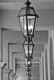 Light fixtures. Along the corridor Stock Photos