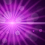 Light flare special effect background Stock Photo