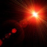Light flare. Royalty Free Stock Photography