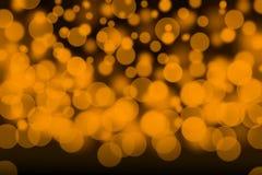 Light float bokeh blurs background Stock Photography