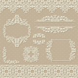 Light floral seamless background Royalty Free Stock Images