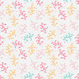 Light floral seamless vector pattern Royalty Free Stock Image
