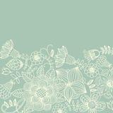 Light floral vintage background royalty free illustration