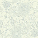 Light Floral Vintage Seamless Pattern Royalty Free Stock Photo