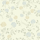 Light floral vintage seamless pattern royalty free illustration