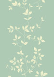 Light floral vintage seamless pattern vector illustration