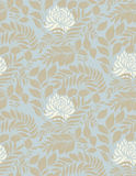 Light floral vintage seamless pattern Stock Photo