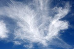 Light fluffy clouds Stock Photo