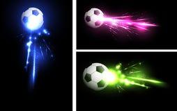Light football banner Stock Image